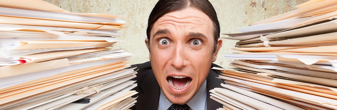 Emotional Stress, Exhaustion, Document. © BillionPhotos.com, fotolia.com